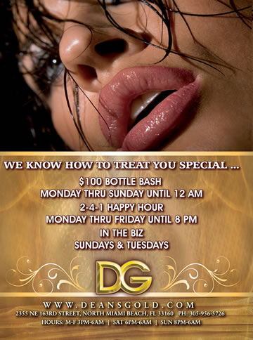 DG Strip Club Miami Specials